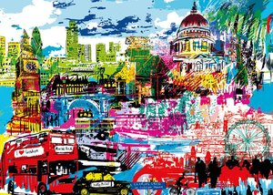 I Love London! Puzzle 1000 Teile