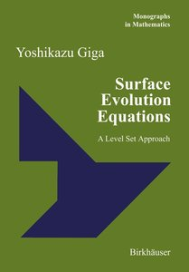 Surface Evolution Equations