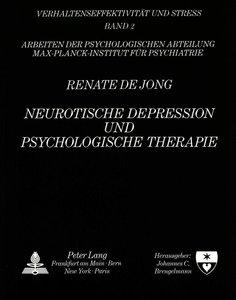 Neurotische Depression und psychologische Therapie