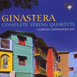 Ginestra:Sämtliche Streichquartette 1-3 (GA)