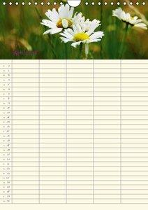 Riedel, T: Naturgarten Familienplaner (Wandkalender 2015 DIN