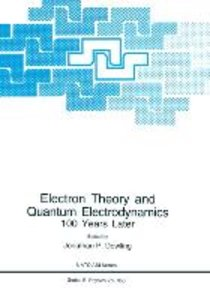Electron Theory and Quantum Electrodynamics