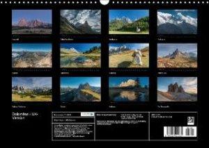 Dolomites / UK-Version (Wall Calendar 2015 DIN A3 Landscape)
