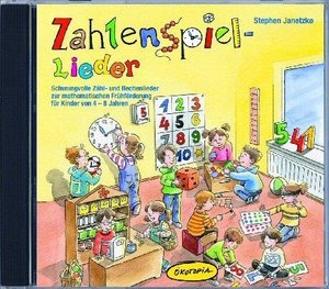 Zahlenspiel-Lieder (CD)