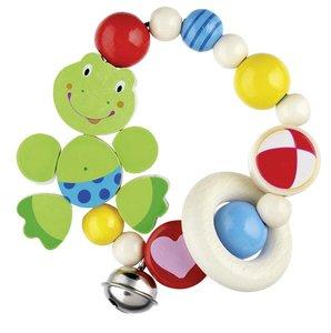 Goki 35250 - Greifling Elastik Frosch