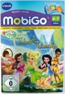 VTech 80-250904 - MobiGo: Lernspiel Tinkerbell, Das Tal der Feen