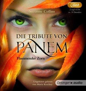 Die Tribute von Panem 3. Flammender Zorn (2 mp3-CD)
