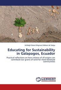 Educating for Sustainability in Galapagos, Ecuador