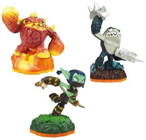 Skylanders Giants: Triple Pack F - Eruptor, Stealth Elf, Terrafi