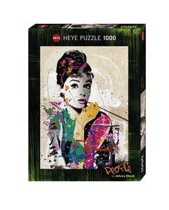 Audrey. Puzzle 1000 Teile