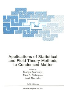 Applications of Statistical and Field Theory Methods to Condense