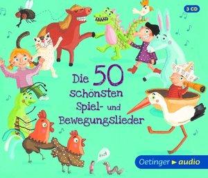 Die 50 sch¿nsten Spiel- und Bewegungslieder (3 CD)