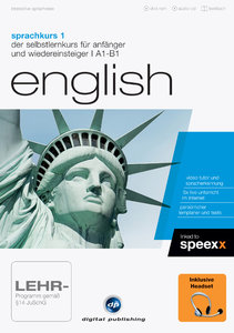 Sprachkurs 1 English + Headset