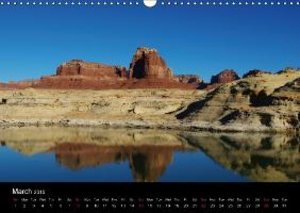 Spectacular Utah / UK-Version (Wall Calendar 2015 DIN A3 Landsca