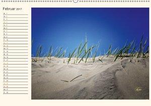 Nordsee-Dünen / Geburtstagskalender