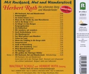 Mit Rucksack,Hut Und Wanderstock