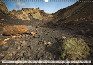 LANZAROTE Vulkanische Landschaften (Wandkalender 2016 DIN A3 que