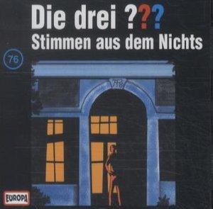 Die drei ??? 076 Stimmen aus dem Nichts. (drei Fragezeichen). CD