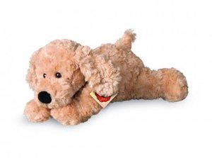 Teddy Hermann 91928 - Schlenkerhund beige, 28 cm