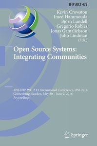 Open Source Systems: Integrating Communities