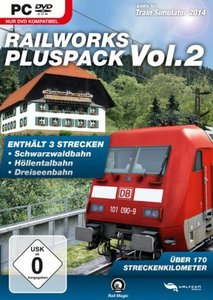 Train Simulator 2014 - Railworks PLUSPACK VOL. 2 (Plus: Schwarzw