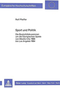 Sport und Politik
