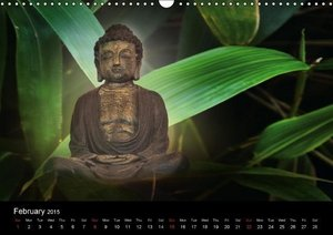 "Buddha (""UK-Version"") (Wall Calendar 2015 DIN A3 Landscape)"