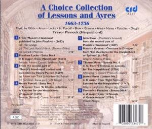 A Choice Collection Of Lessons And Ayres