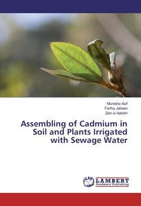 Assembling of Cadmium in Soil and Plants Irrigated with Sewage W
