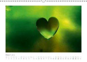 Heartdrops (Wall Calendar 2015 DIN A3 Landscape)
