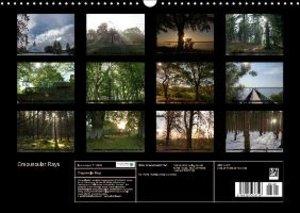 Crepuscular Rays (Wall Calendar 2015 DIN A3 Landscape)