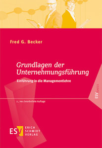 Becker, F: Grundlagen der Unternehmungsführung