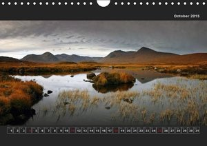 Panoramic Scotland / UK-Version (Wall Calendar 2015 DIN A4 Lands