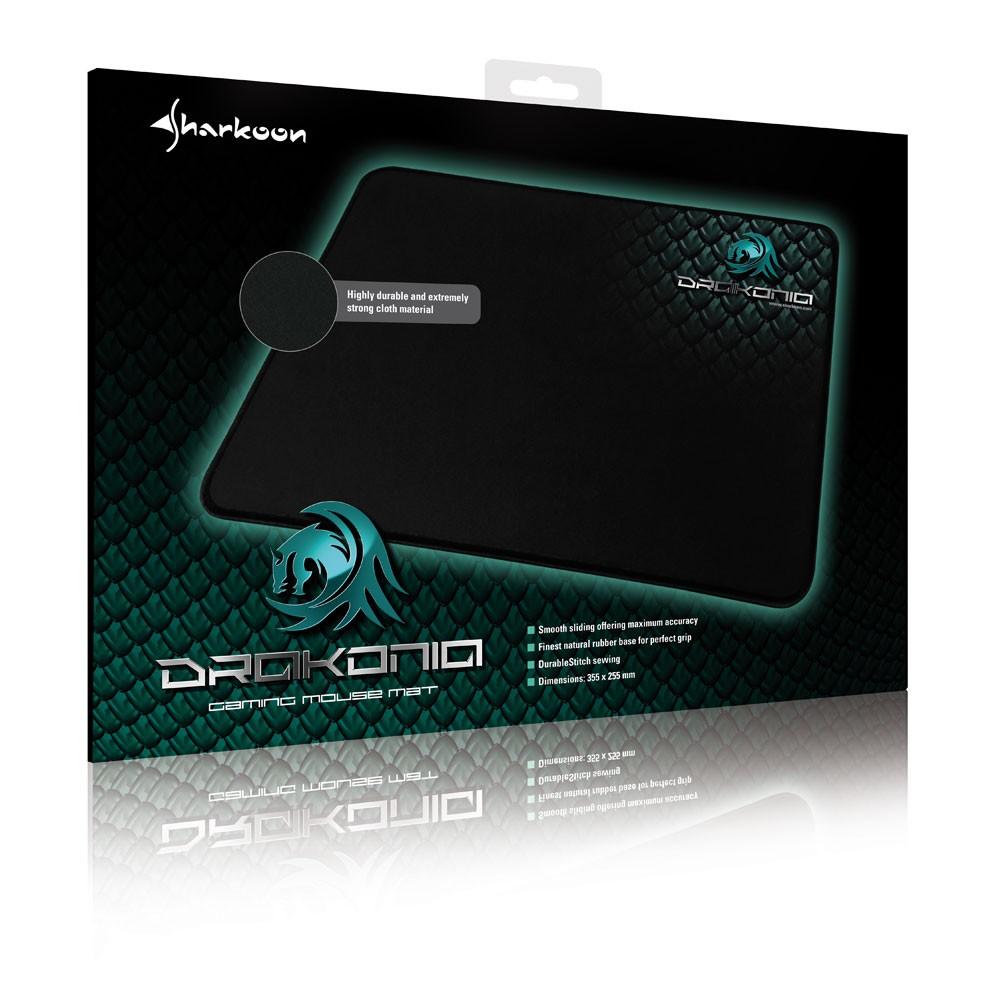 Sharkoon Drakonia - Gaming Mat (Mauspad) - Schwarz - zum Schließen ins Bild klicken