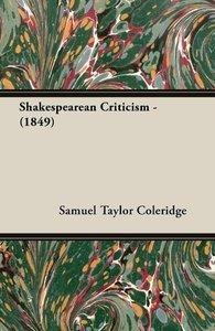Shakespearean Criticism - (1849)