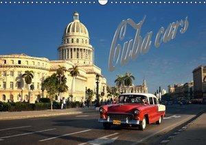Cuba Cars (UK - Version) (Wall Calendar 2015 DIN A3 Landscape)