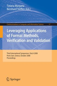 Leveraging Applications of Formal Methods, Verification and Vali