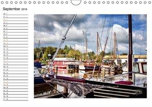 Friesland - am Vareler Hafen (Wandkalender 2016 DIN A4 quer)