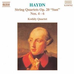 Streichquartette op.20,4-6
