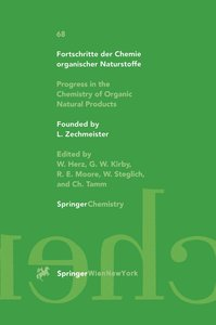 Progress in the Chemistry of Organic Natural Products