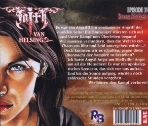 Faith - The Van Helsing Chronicles 35. Ravens Rückkehr