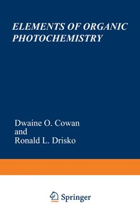 Elements of Organic Photochemistry