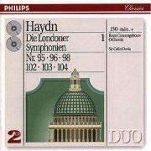 Sinfonien 95,96,98,102-104
