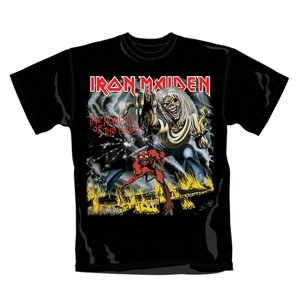Number Of The Beast (T-Shirt,Schwarz,Größe S)