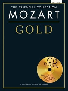 Essential Collection Mozart Gold Piano Collection Book