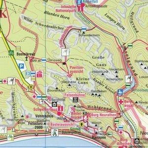 Vordere Sächsische Schweiz Stadt Wehlen, Kurort Rathen, Hohnstei
