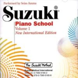 Suzuki Piano School Vol. 1 New International Edition CD