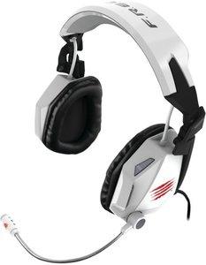 F.R.E.Q. 5 Stereo-Spiele-Headset für PC und Mac, weiss