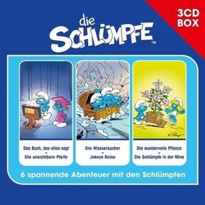 Die Schlümpfe - 3-CD Hörspielbox Vol. 1