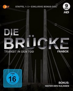 Die Brücke - Transit in den Tod Staffel 1-3 + Bonus